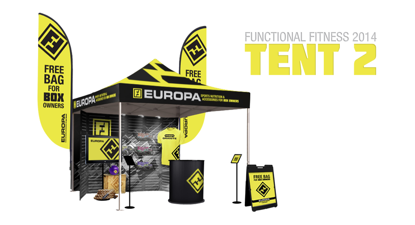 2014 Europa Sports Products Functional Fitness Campaign